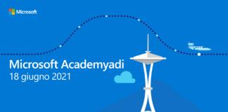 Microsoft Academyadi - Banner evento finale 18 giugno 2021