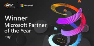 Banner Vincitore Microsoft Partner of the Year - Agic Technology