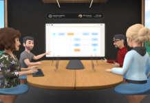 Rappresentazione grafica di Horizon Workrooms